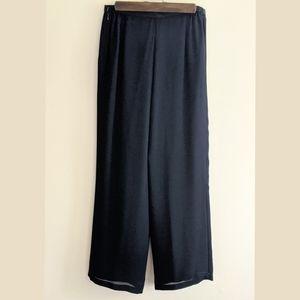 Vintage Black Sheer Pants by Jessica Howard